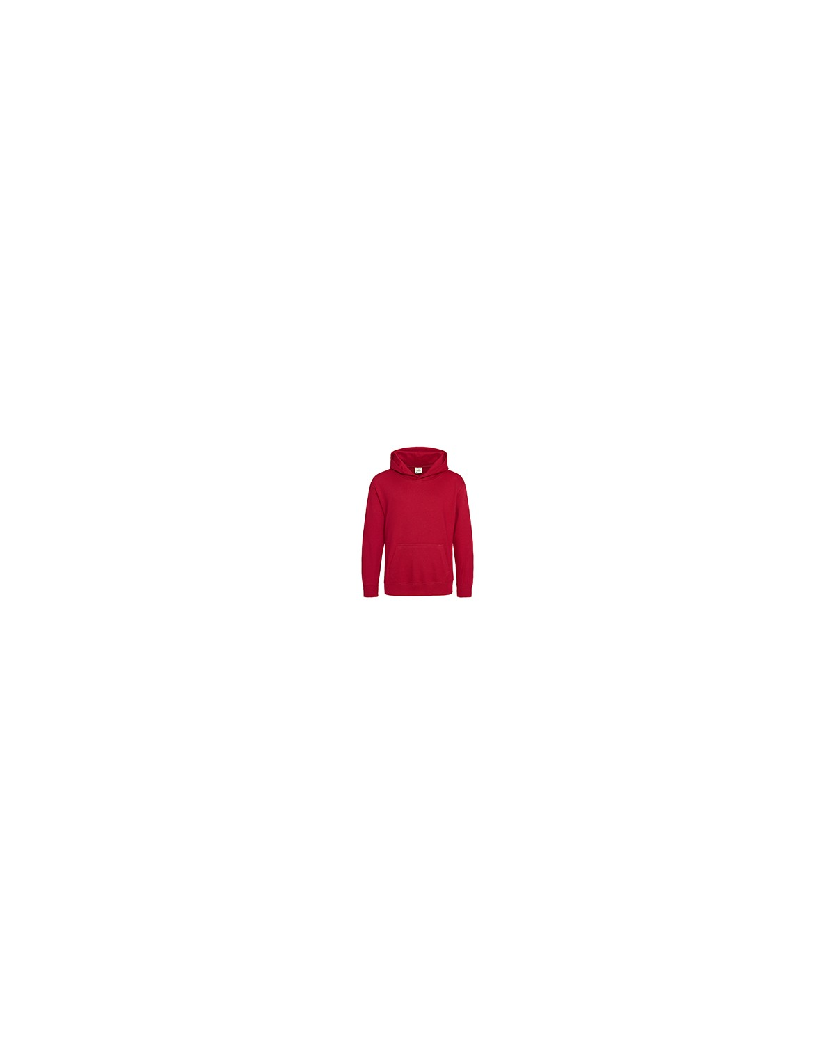 JHY001 Just Hoods By AWDis FIRE RED