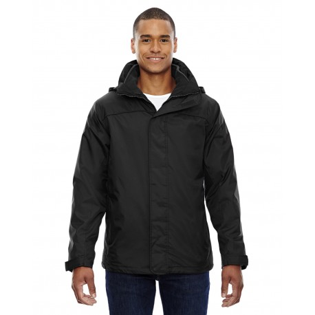 88130 North End 88130 Adult 3-in-1 Jacket BLACK 703
