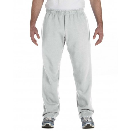 G184 Gildan G184 Adult Heavy Blend Adult 8 oz., 50/50 Open-Bottom Sweatpants ASH