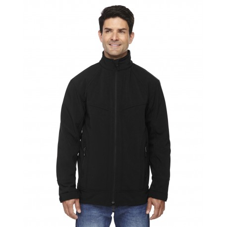 88604 North End 88604 Men's Three-Layer Light Bonded Soft Shell Jacket BLACK 703