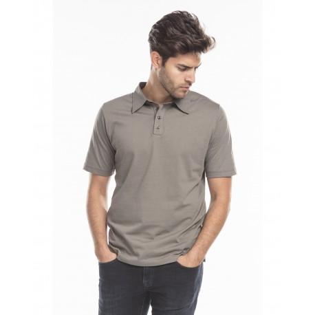 US5580 US Blanks US5580 Men's Jersey Interlock Polo T-Shirt ASPHALT