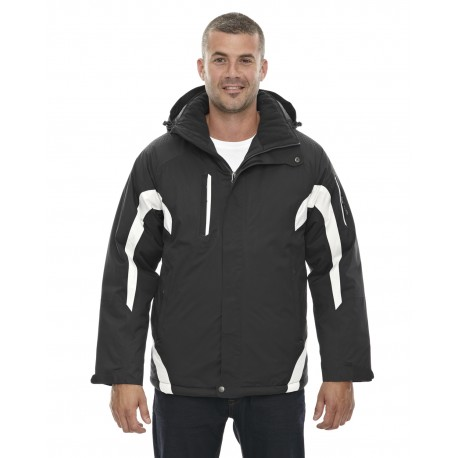 88664 North End 88664 Men's Apex Seam-Sealed Insulated Jacket BLACK 703