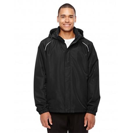 88224 Core 365 88224 Men's Profile Fleece-Lined All-Season Jacket BLACK 703
