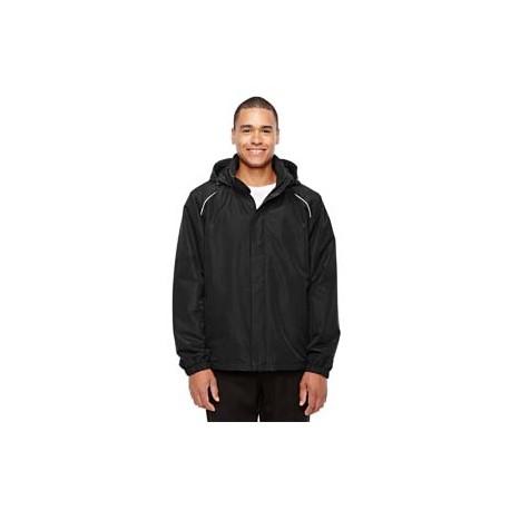 88224T Core 365 88224T Men's Tall Profile Fleece-Lined All-Season Jacket BLACK 703