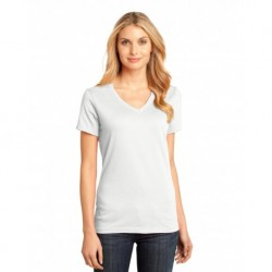District DM1170L Women's Perfect Weight V-Neck Tee