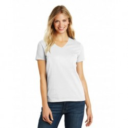District DM1190L Women's Perfect Blend V-Neck Tee
