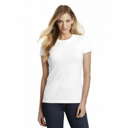 District DT155 Women's Fitted Perfect Tri Tee