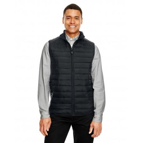 CE702 Core 365 CE702 Men's Prevail Packable Puffer Vest BLACK 703