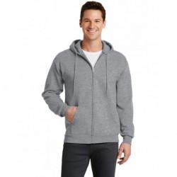 Port & Company PC78ZH Core Fleece Full-Zip Hooded Sweatshirt