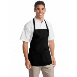 Port Authority A510 Medium-Length Apron with Pouch Pockets