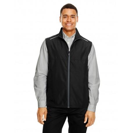 CE703 Core 365 CE703 Men's Techno Lite Unlined Vest BLACK 703
