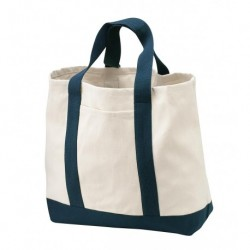 Port Authority B400 Two-Tone Shopping Tote