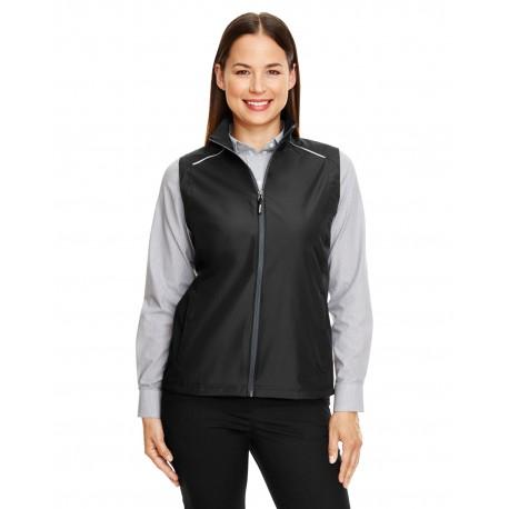 CE703W Core 365 CE703W Ladies' Techno Lite Unlined Vest BLACK 703