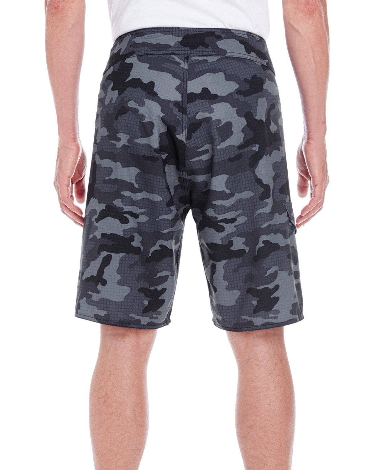 B9371 Burnside BLACK CAMO