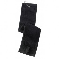 Port Authority TW50 Grommeted Tri-Fold Golf Towel