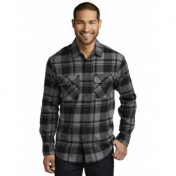 Port Authority W668 Plaid Flannel Shirt