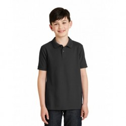 Port Authority Y500 Youth Silk Touch Polo