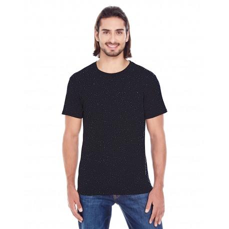 103A Threadfast Apparel 103A Men's Triblend Fleck Short-Sleeve T-Shirt BLACK FLECK