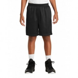 Sport-Tek YST510 Youth PosiCharge Classic Mesh Short