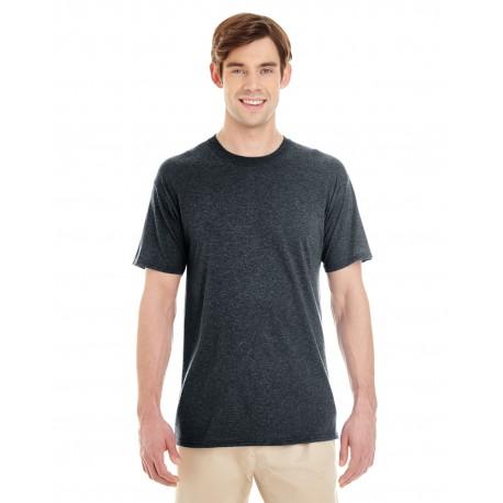 601MR Jerzees 601MR Adult 4.5 oz. TRI-BLEND T-Shirt BLACK HEATHER