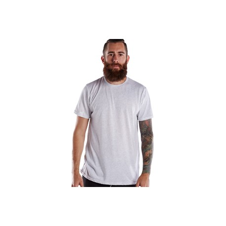 US2229 US Blanks US2229 Men's Short-Sleeve Made in USA Triblend Crew ASH