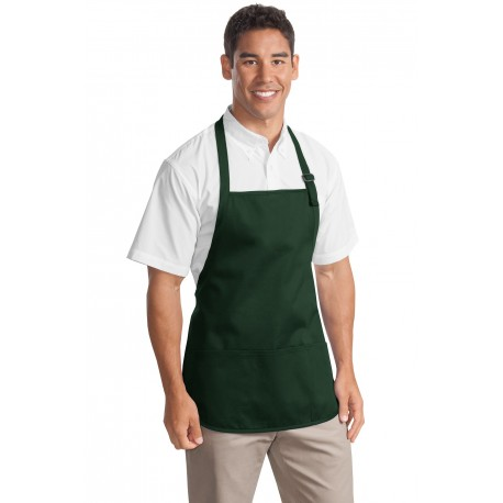 A510 Port Authority A510 Medium-Length Apron with Pouch Pockets HUNTER
