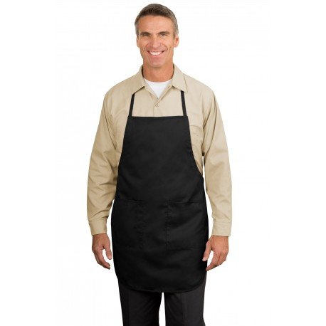 A520 Port Authority A520 Full-Length Apron BLACK