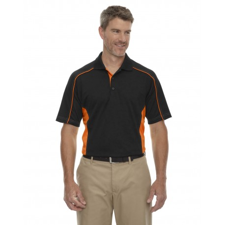 85113T Extreme 85113T Men's Tall Eperformance Fuse Snag Protection Plus Colorblock Polo BLACK/ORNGE 468