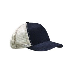 Econscious EC7065 Recycled Semi-Curve 5-Panel Trucker