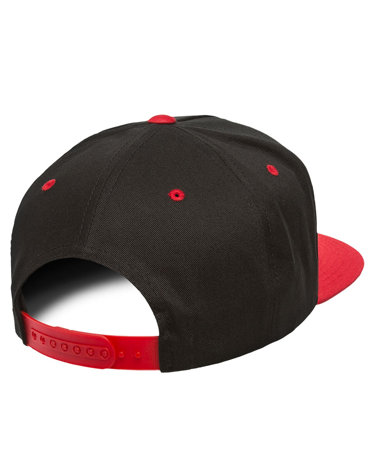 Y6007 Yupoong BLACK/RED