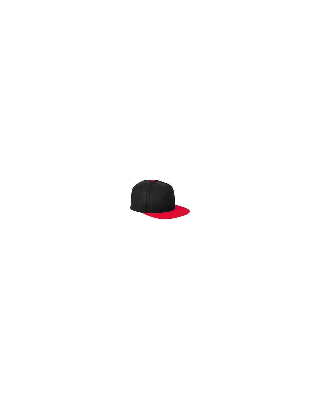 BA539 Big Accessories BLACK/RED
