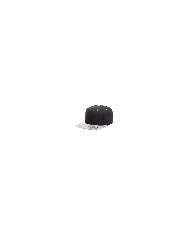 6089 Yupoong BLACK/SILVER