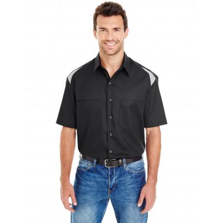 LS605 Dickies LS605 Men's 4.6 oz. Performance Team Shirt BLACK/SMOKE