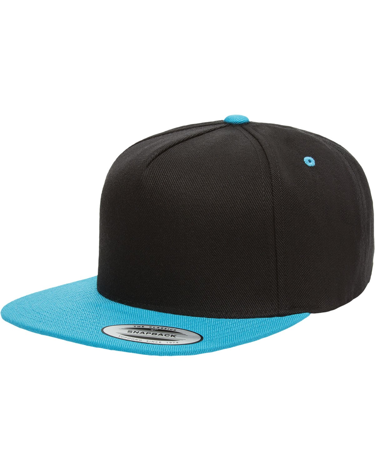 YP5089 Yupoong BLACK/TEAL