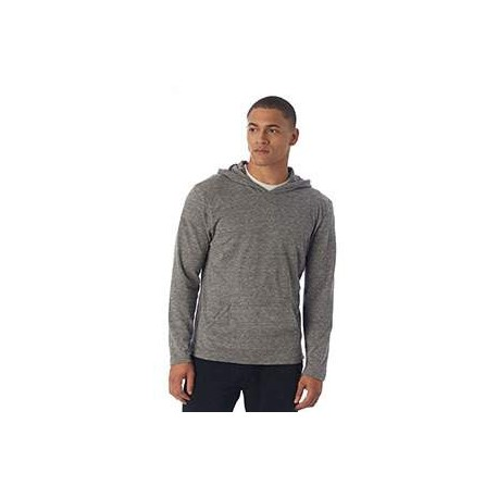 12365 Alternative 12365 Unisex Marathon Eco-Jersey Pullover Hoodie ECO GREY