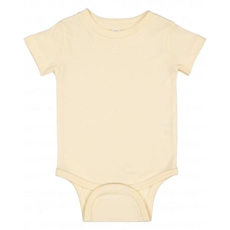 4480 Rabbit Skins 4480 Infant Premium Jersey Bodysuit NATURAL