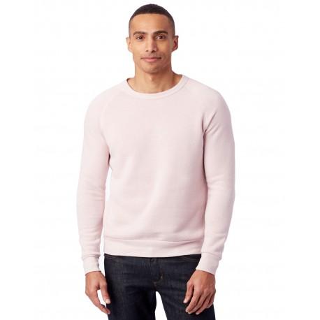 AA9575 Alternative AA9575 Unisex Champ Eco-Fleece Solid Sweatshirt ECO ROSE QUARTZ