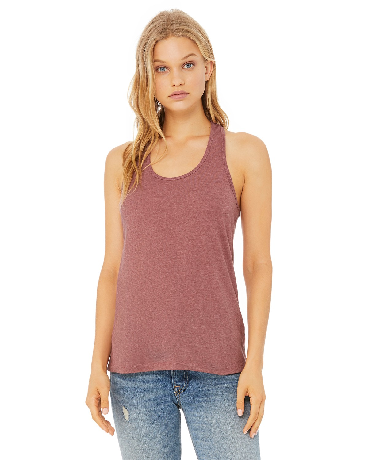 B6008 Bella + Canvas HEATHER MAUVE