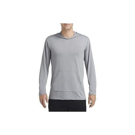 G465 Gildan G465 ADULT Performance Adult Hooded T-Shirt GRAVEL