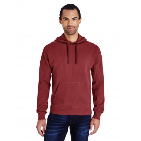 GDH450 ComfortWash by Hanes GDH450 Unisex 7.2 oz., 80/20 Pullover Hood Sweatshirt SPANISH MOSS