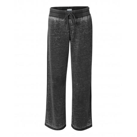 JA8914 J America JA8914 Ladies Zen Pant TWISTED BLACK