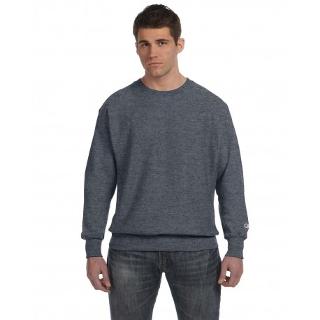 S1049 Champion S1049 Adult Reverse Weave 12 oz. Crew CHARCOAL HEATHER