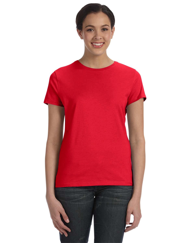 SL04 Hanes Athletic Red