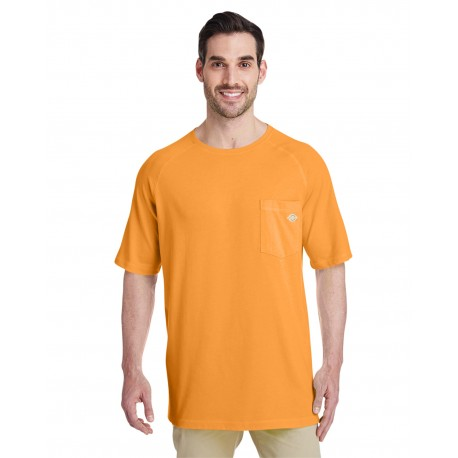SS600 Dickies SS600 Men's 5.5 oz. Temp-IQ Performance T-Shirt BRIGHT ORANGE