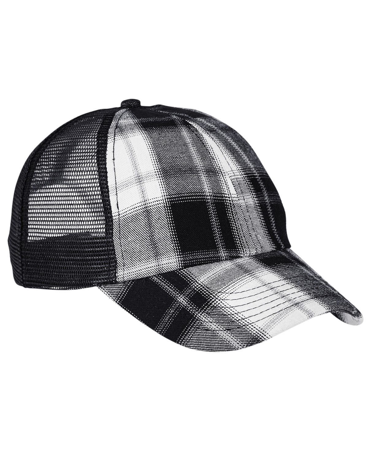VB101 Adams WHITE/ BLK PLAID