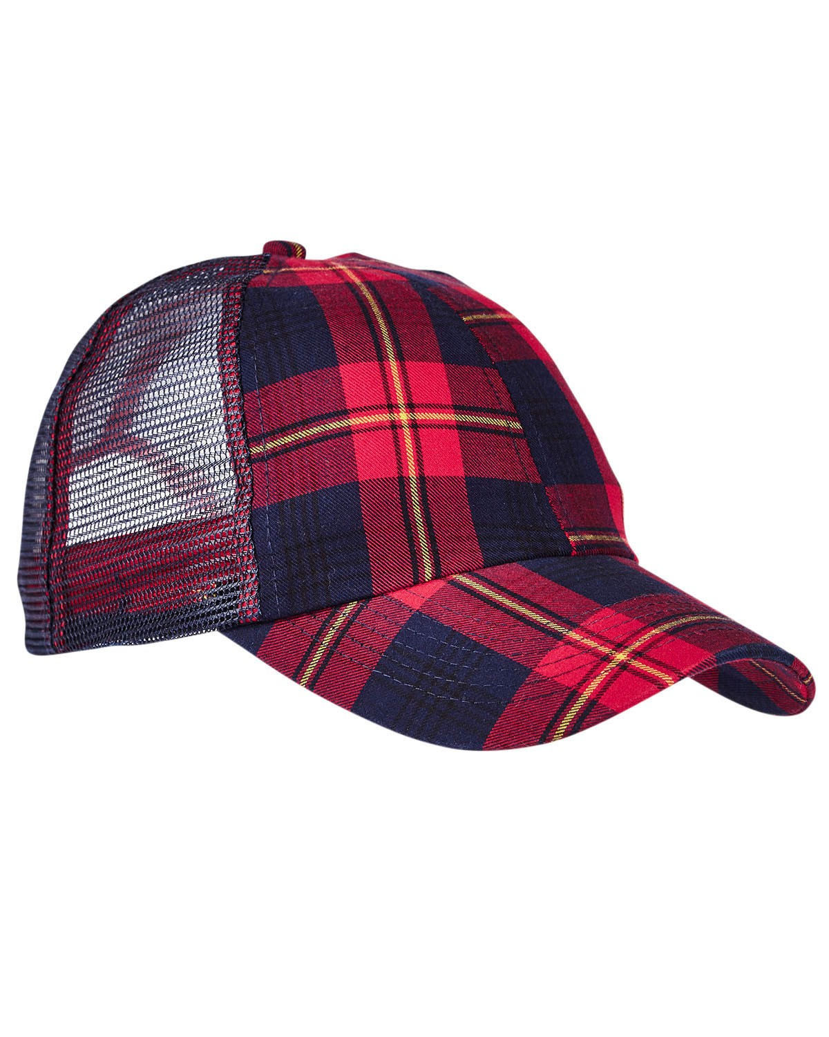 VB101 Adams RED/ NAVY PLAID