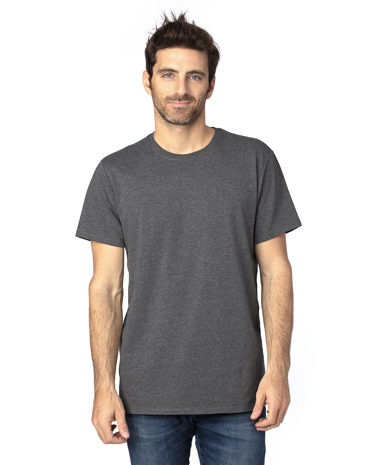 100A Threadfast Apparel CHARCOAL HEATHER