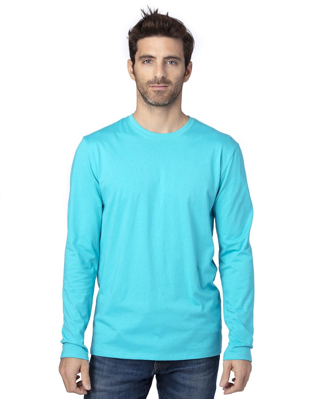 100LS Threadfast Apparel PACIFIC BLUE