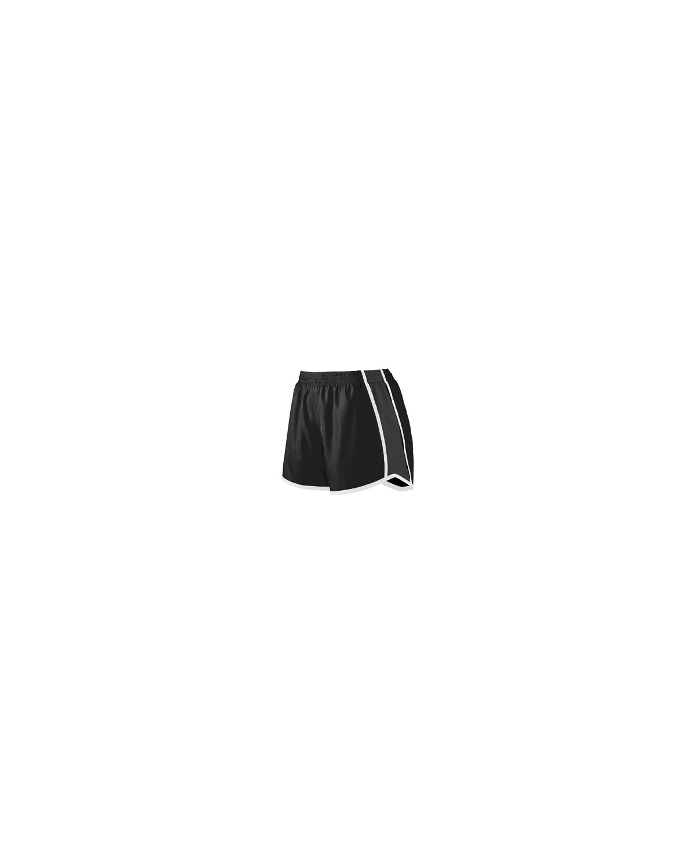 1265 Augusta Sportswear BLACK/ BLK/ WHT