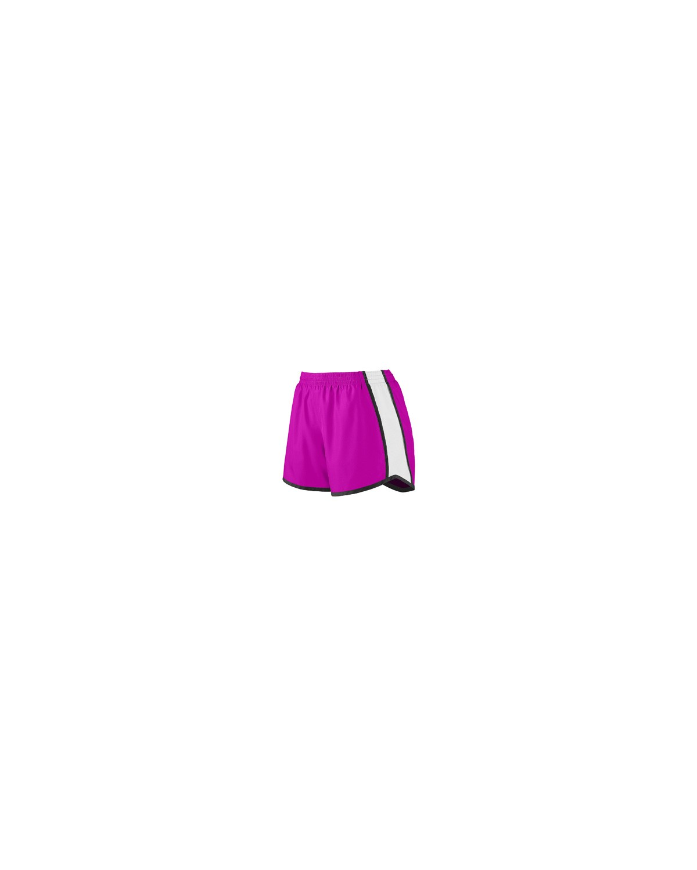 1265 Augusta Sportswear POW PNK/ WH/ BLK